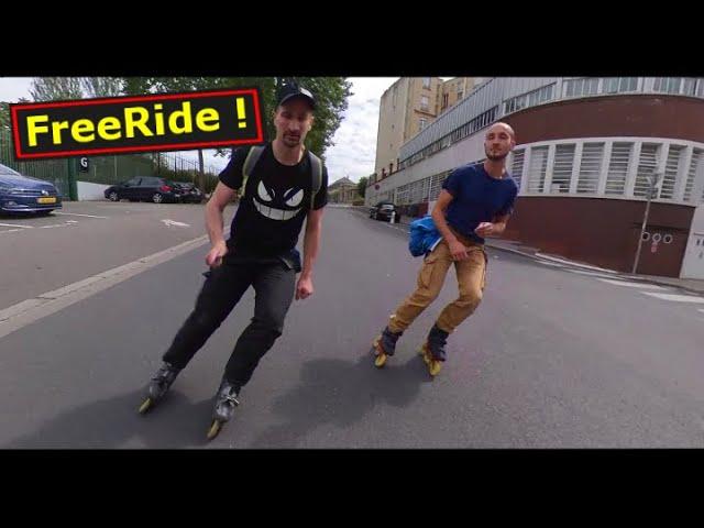 Roller Freeride - Paris Free  hiking - (Sunday)