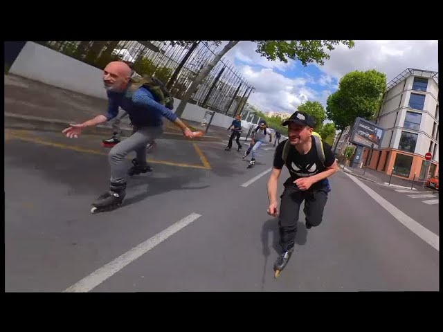 62 seconds de Roller Freeride Paris by Fc.Rider !