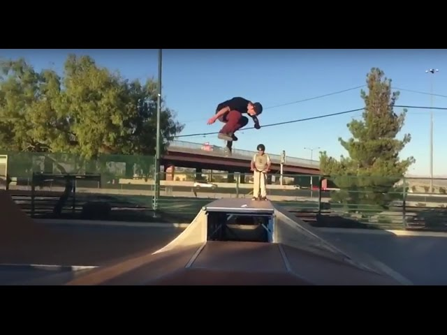 HUUUGE Bs Flip!!! - Jason Thurtle!
