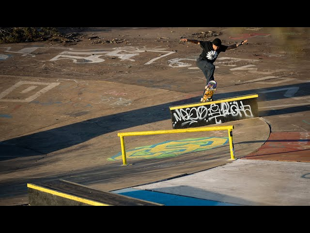 Las Vegas's Skateboarding DIY Renegade