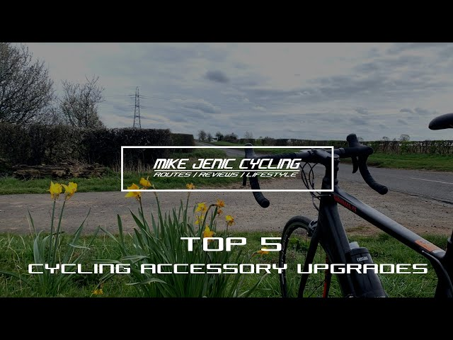 Top 5 Cycling Accessory Upgrades