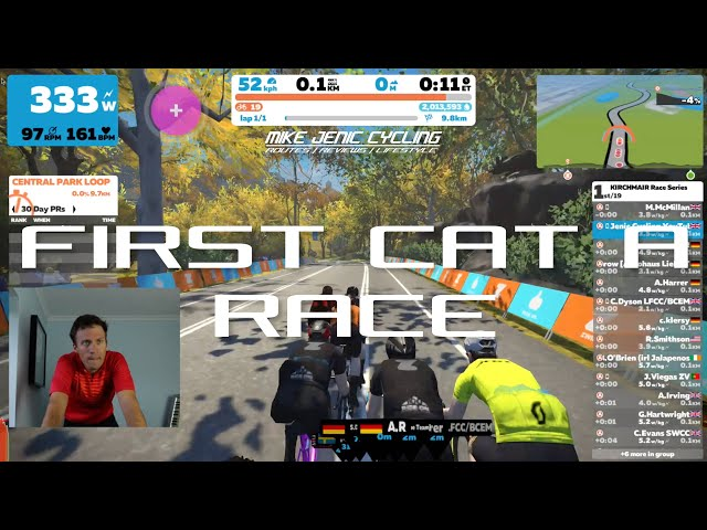 First CAT A Race!