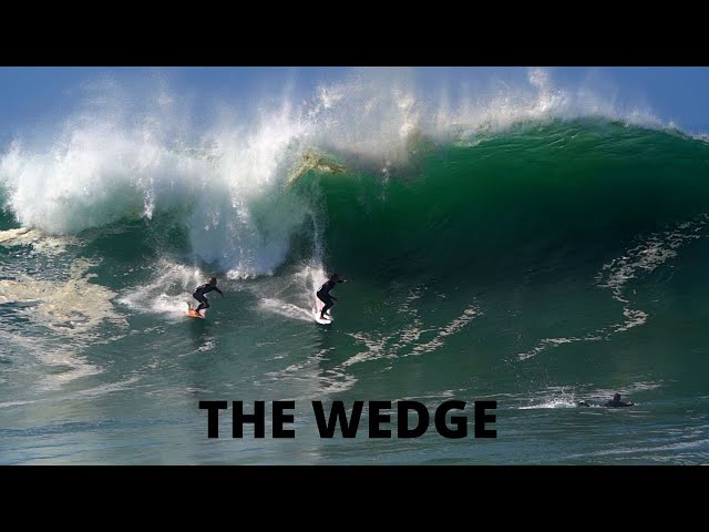 THE WEDGE BIGGEST WAVES in YEARS | July 4th 2020 |