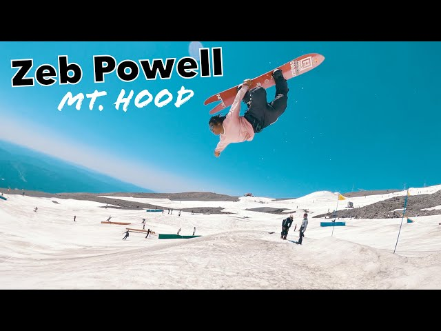 Zeb Powell at Mount Hood