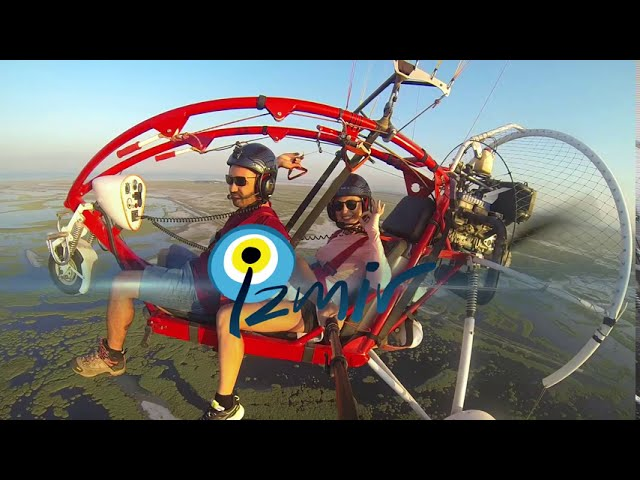 İzmir live to fly paratrike
