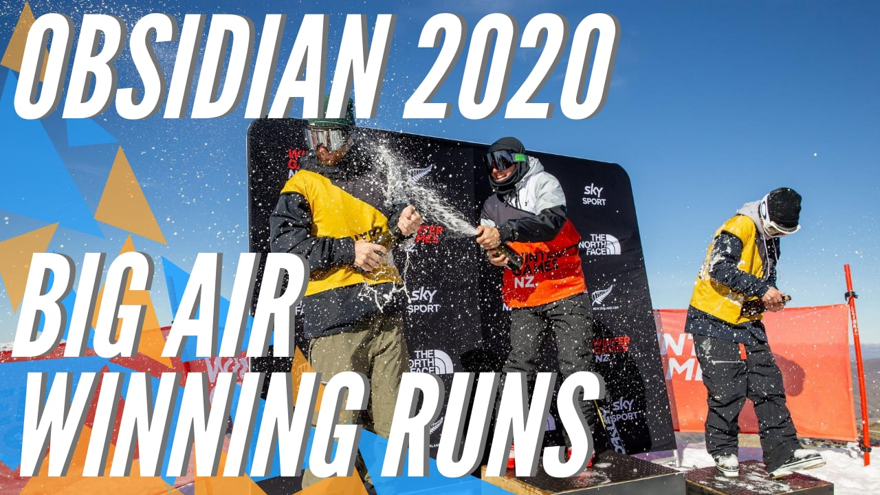 Winning Runs of Obsidian 2020 Big Air