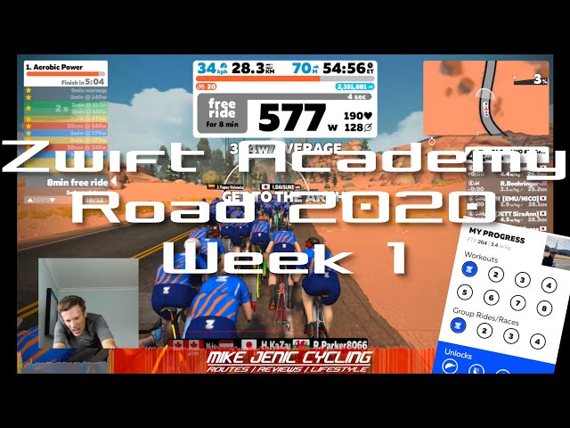 Zwift Academy - Week 1