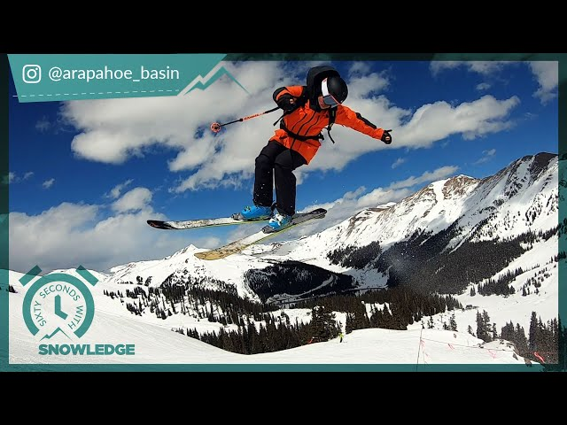 60 Seconds with Snowledge A-Basin
