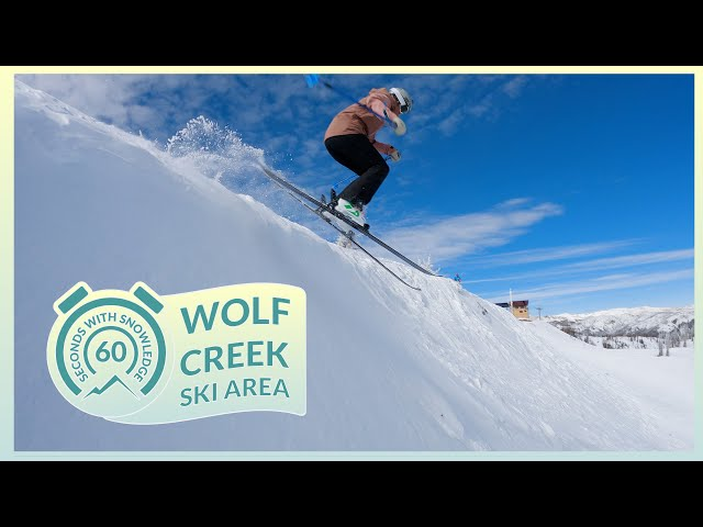 Wolf Creek Ski Area | 60 Seconds with Snowledge