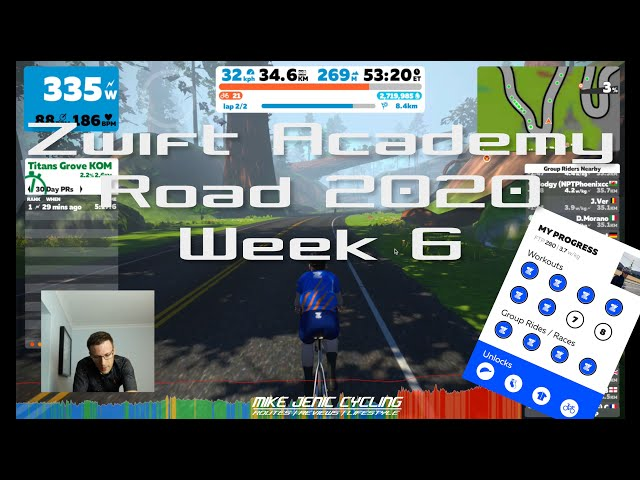 Zwift Academy - Week 6