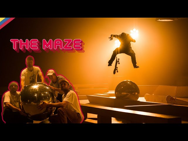 The Maze - Skateboarding