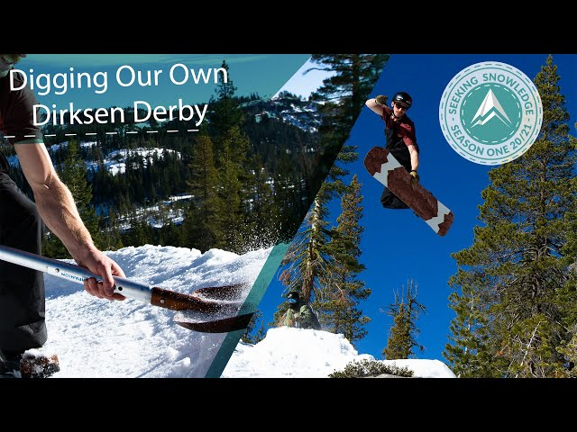 Digging Our Own Dirksen Derby // Seeking Snowledge