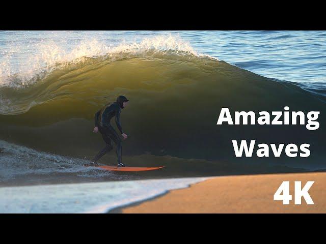 Amazing Waves hit California in 4K EDIT December 2