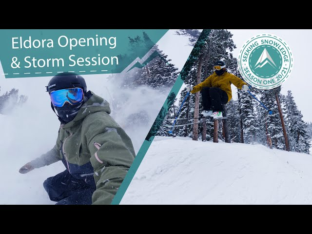 Eldora Opening & Storm Session // Seeking Snowledg