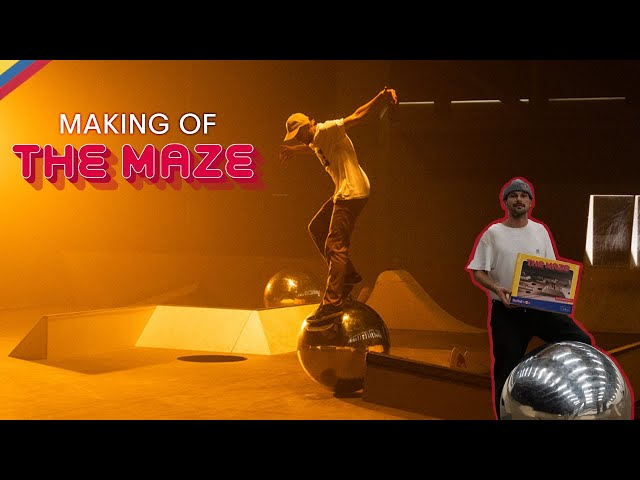 Making of The Maze - Skatepark Turned Board Game