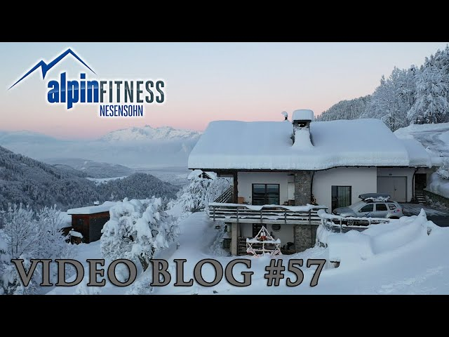 Wintry atmosphere at the Alpinfitness Basecamp