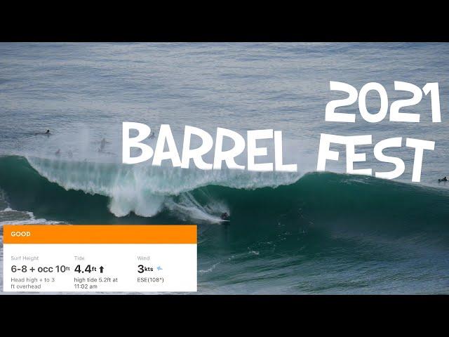 BLACK'S BEACH MEGASWELL SURFING 2021