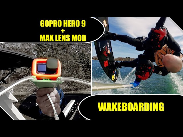 GoPro Hero 9+Max Lens Mod | Wakeboarding [4K]