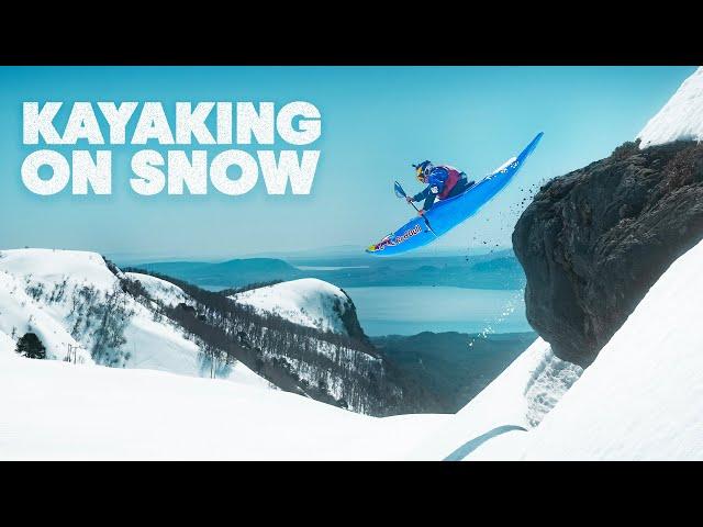 Kayaking At 100km/h On Snow?!