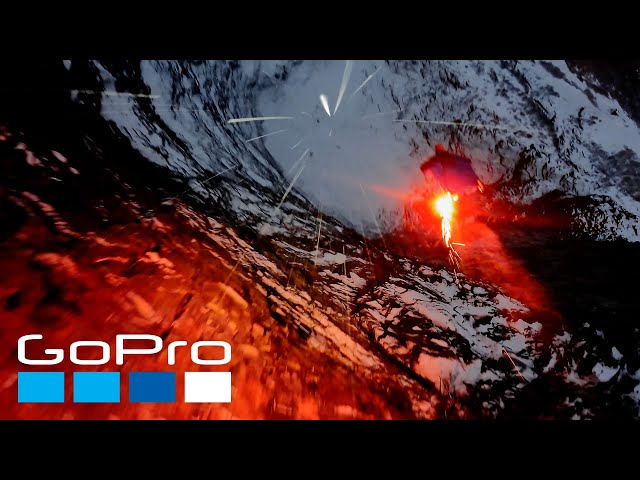 GoPro Awards BASE Jumping at Night The Human Jet