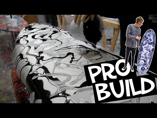 MAKING A SURFBOARD (PROFESSIONAL)