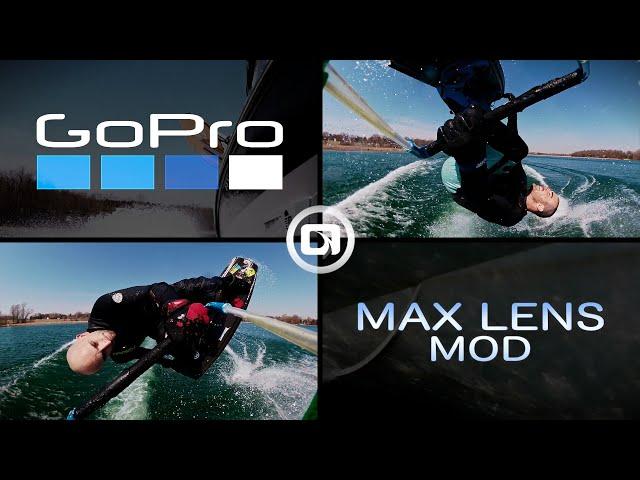 WAKEBOARDING REVERSE POV PT 2 | GoPro Max Lens Mod