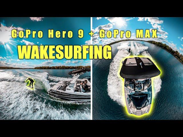 GoPro Hero 9 + GoPro MAX | WAKESURFING