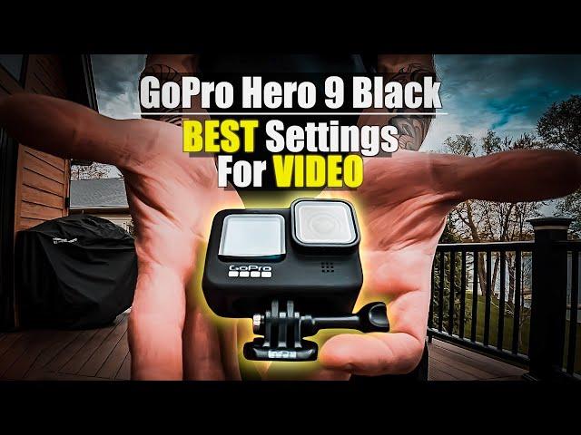 GoPro Hero 9 Black   Outright BEST SETTINGS FOR VI