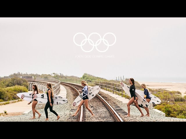 THE GIRLS OF SURFING TOKYO 2020 OLYMPIC EDITION