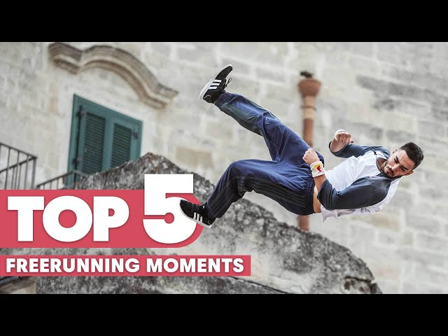 Top 5 Freerunning Moments x Red Bull Art Of Motion
