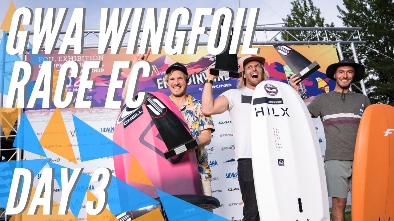 GWA Wingfoil Race European Championship 2021 DAY 3