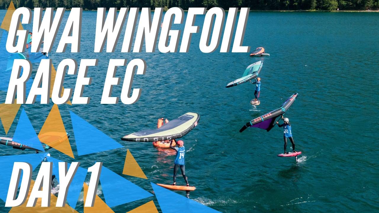 GWA Wingfoil Race European Championship 2021 DAY 1