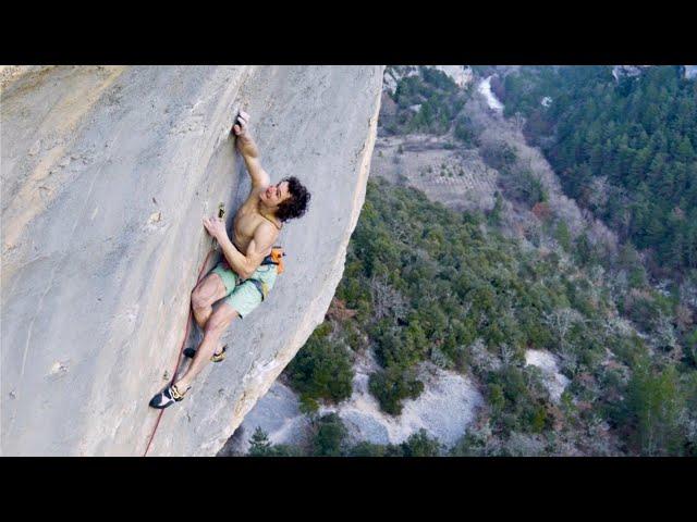 Adam Ondra Climbs 5.15 (9a+) First Try