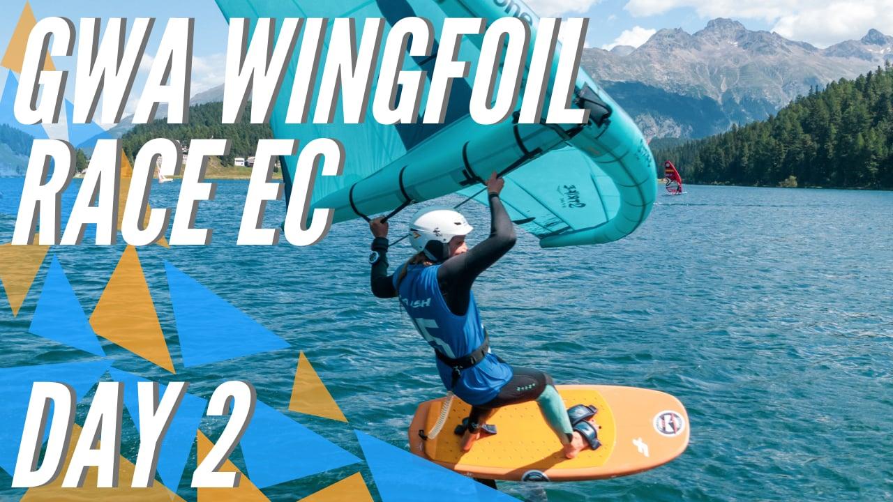 GWA Wingfoil Race European Championship 2021 DAY 2
