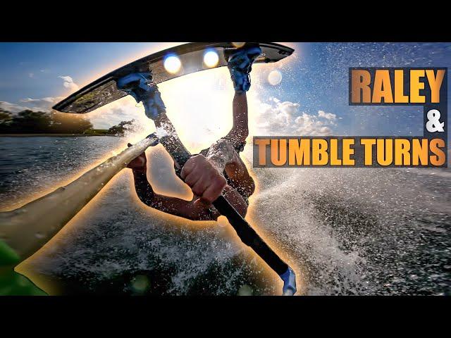 GoPro Wakeboarding | Heelside RALEY To TUMBLE TURN