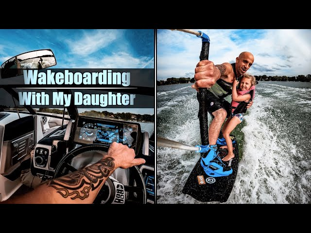 Wakeboarding With My Daughter! | GoPro Hero 9