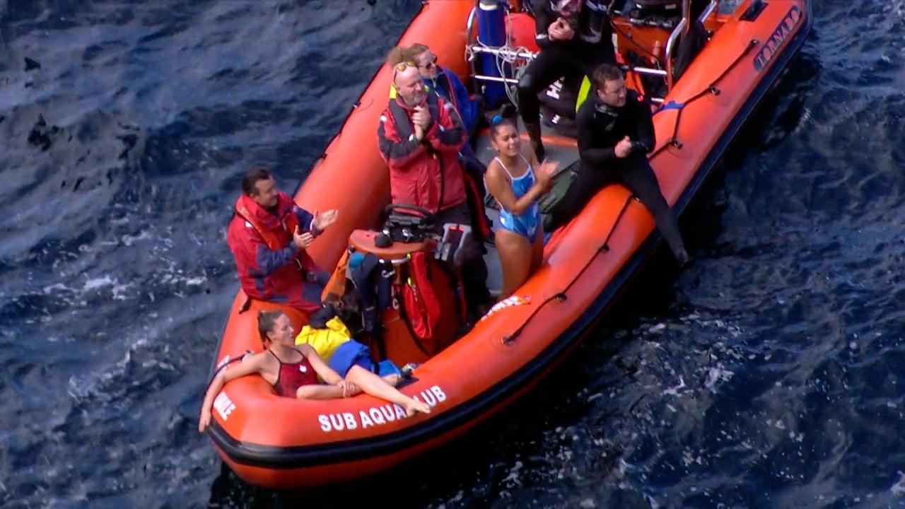 Cliff Diving 2021 (IRL) – Winning Dive (Women)