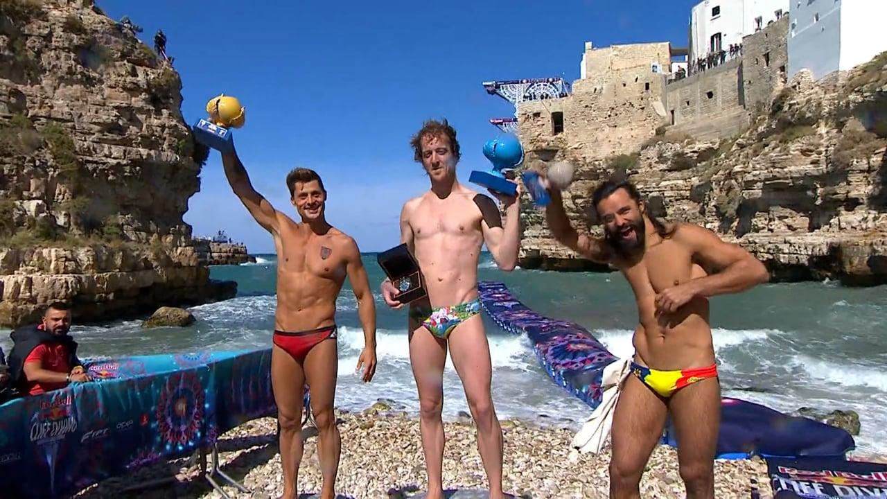 Cliff Diving 2021 – Puglia - Winning Dive (Men)