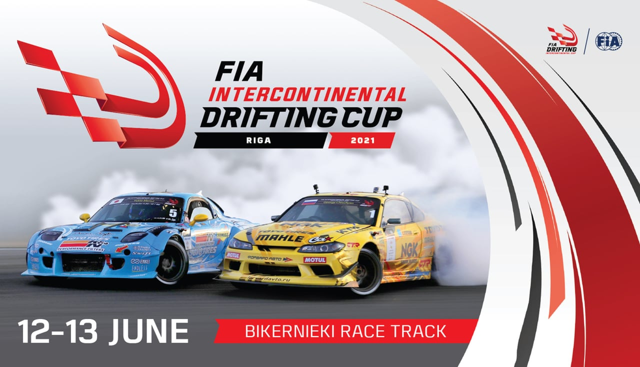 FIA Intercontinental Drifting Cup 2021 - Riga (LAT